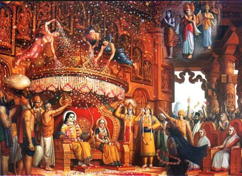 Shri Ram Rajya Coronation