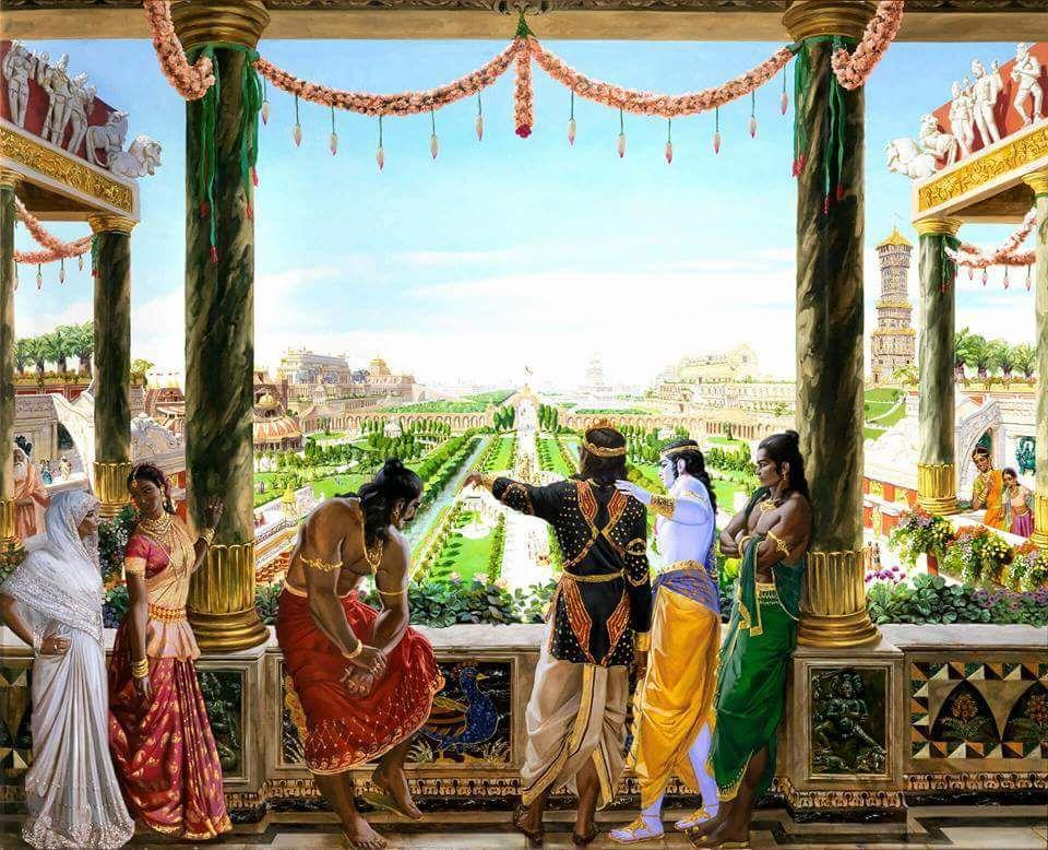 Mahabharat: Krishna Hastinapur | Krishna Wallpaper