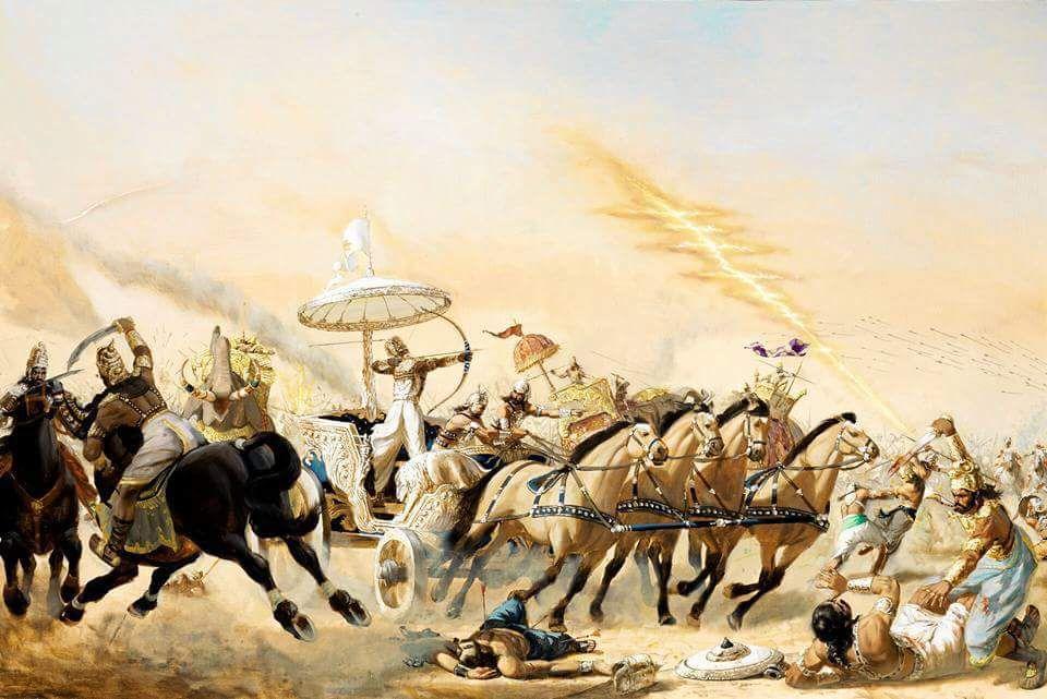 Mahabharat: Bhism at Kurushetra
