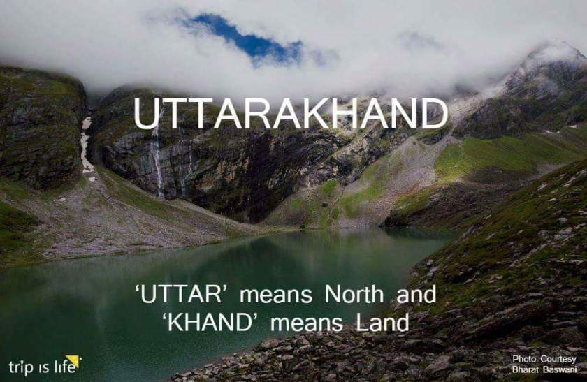 States of India: Uttarakhand Meaning
