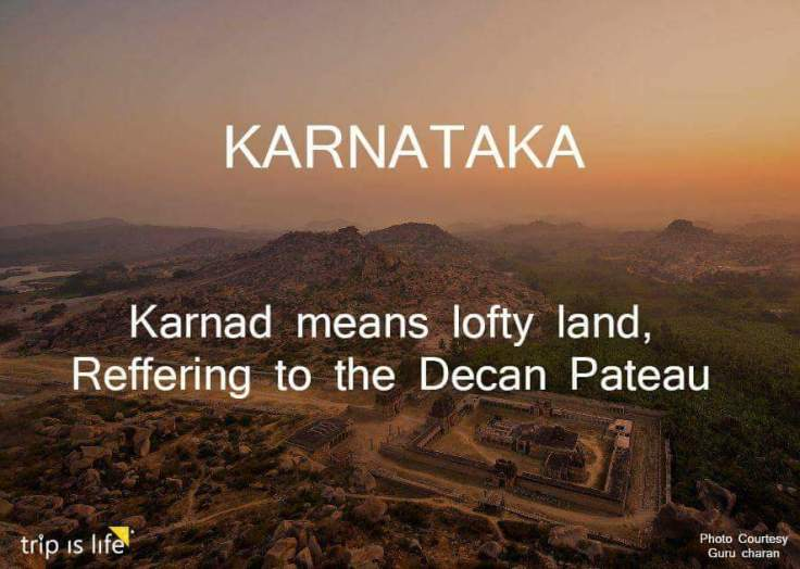 States of India: Karnataka Meaning