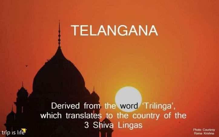 States of India: Telangana meaning