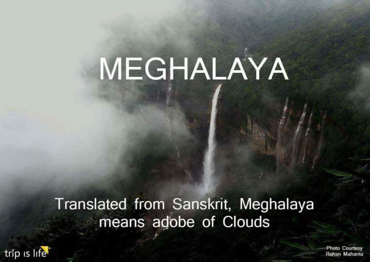 States of India: Meghalaya meaning