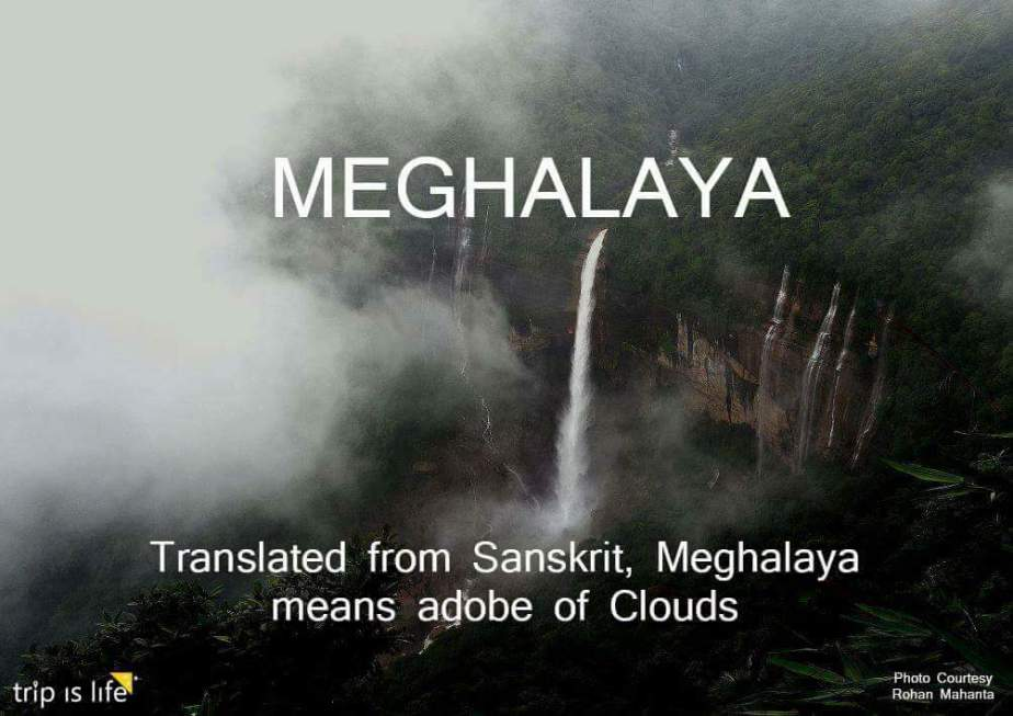 States of India: Meghalaya meaning