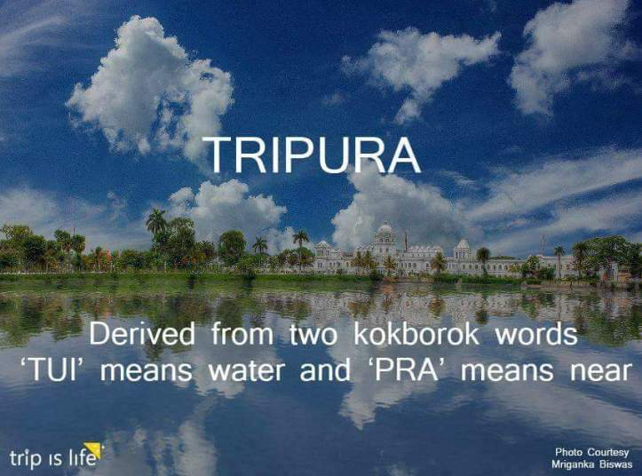 States of India: Tripura meaning