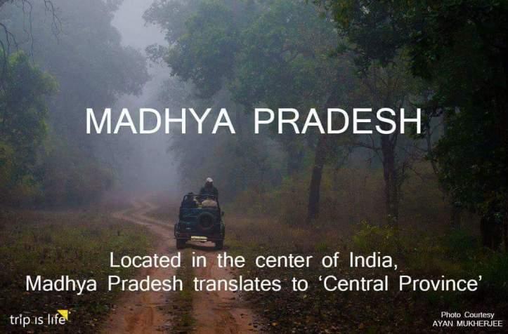 States of India: Madhya Pradesh meaning