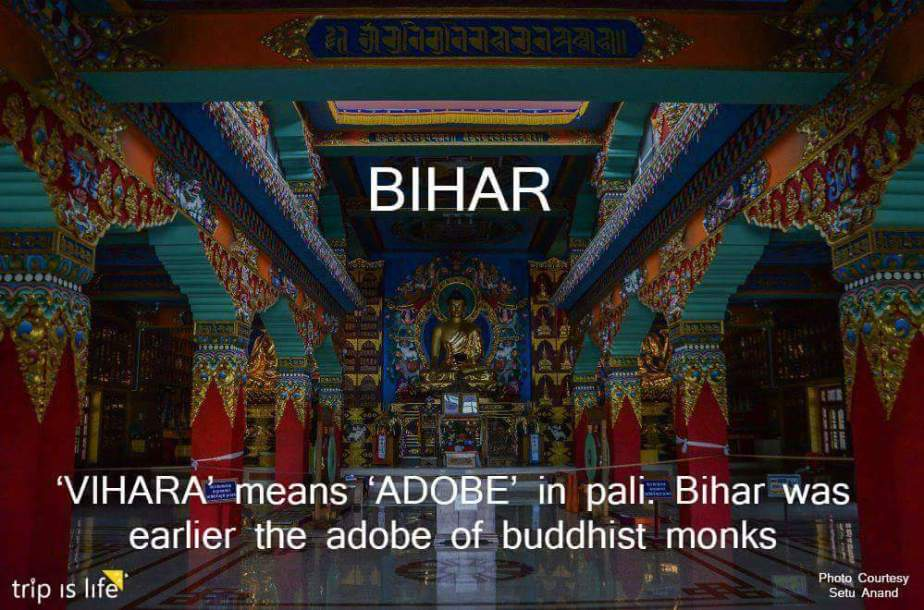States of India: Bihar Meaning