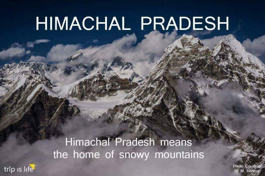 States of India: Himachal Pradesh meaning