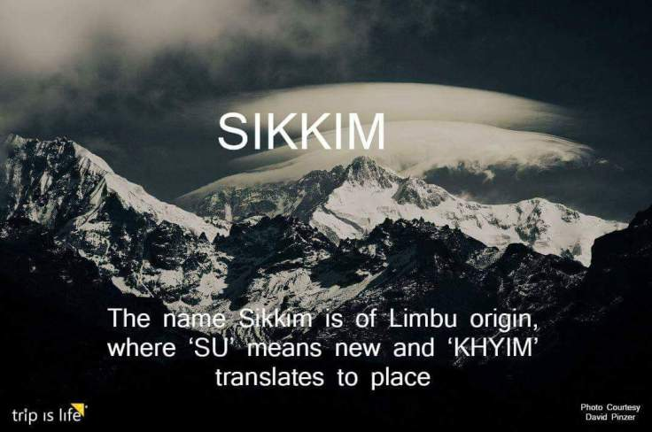 States of India: Sikkim Meaning