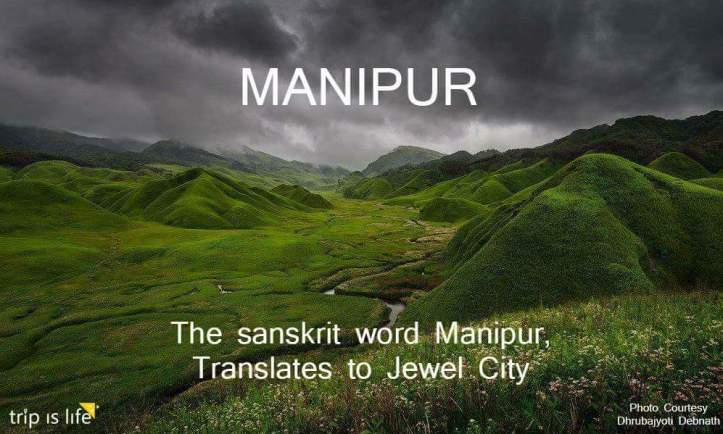 States of India: Manipur Meaning