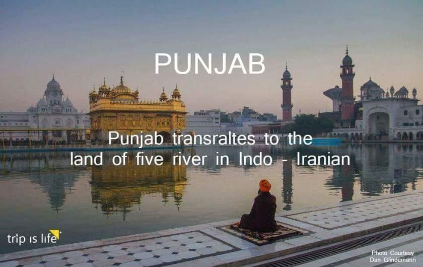 States of India: Punjab meaning