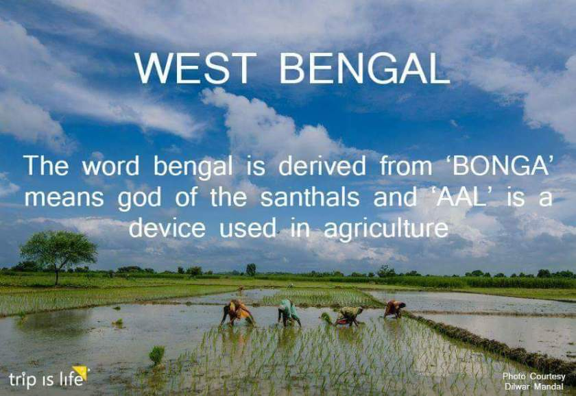 States of India: West Bengal meaning