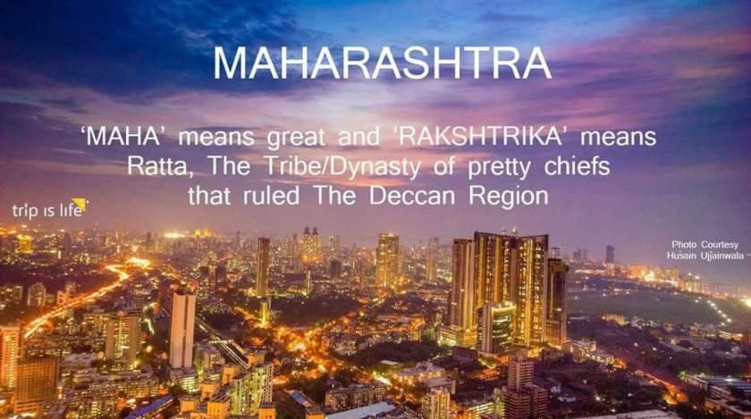 States of India: Maharashtra Meaning