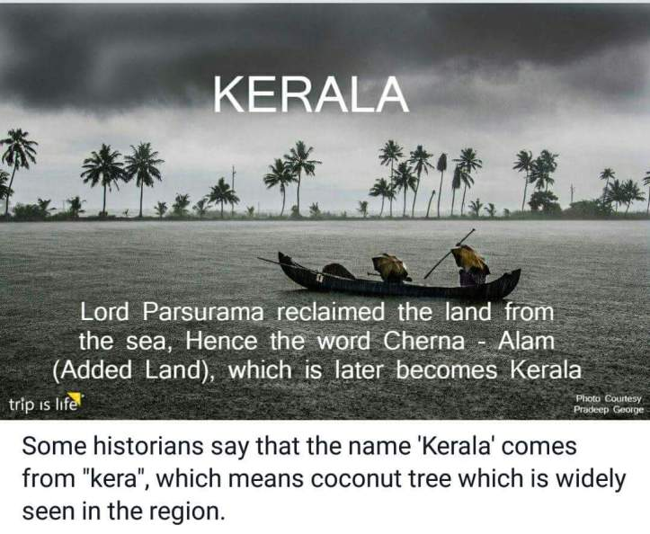 States of India: Kerala Meaning