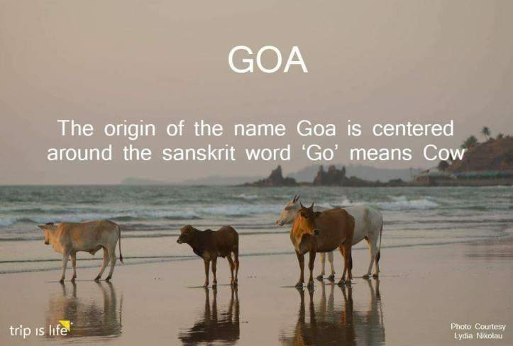States of India: Goa Meaning