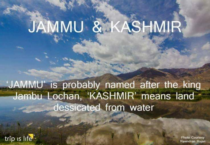 States of India: Jammu and Kashmir Meaning