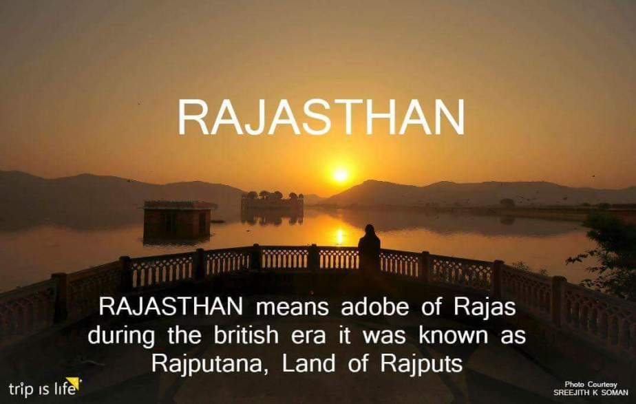 States of India: Rajasthan Meaning