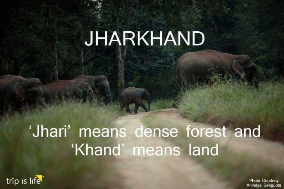 States of India: Jharkhand Meaning