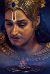 Crying Krishna