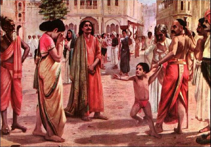 રાજા હરિશ્ચંદ્ર – રાજા જેણે પોતાની પત્ની અને પુત્ર ને ધર્મ બચવાવેચ્યા