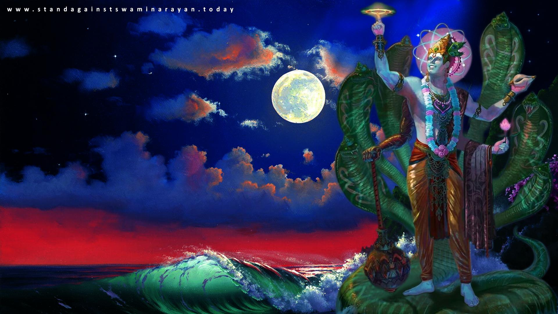 Vishnu SheshNag Wallpaper